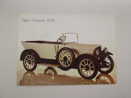 AUTO - OLDTIMER: Opel Torpedo 1920 - Turismo