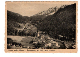 NOVALEVANTE Viaggiata Strada Per Le Dolomiti LATEMAR - Bolzano (Bozen)