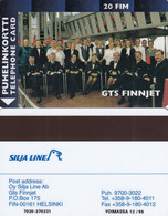 FINLAND - GTS FINNJET 20FIM, CN : 7020, Turun Puhelin Telecard, Tirage %1000, 06/98, Exp.date 12/99, Used - Finland