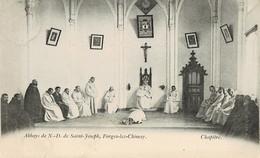 Abbaye De N-D De Saint-Joseph Forges-lez-Chimay Châpitre Circulée En 1903 - Chimay