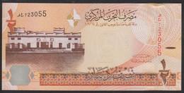 Bahrain 1/2 Dinars 2016 P30 UNC - Bahrain