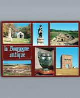 La Bourgogne Antique - Cpm - Multivues 6 - Bourgogne