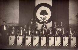 Militaire, 4eme B.C.P., Musique, Orchestre  (bon Etat)  Carte Photo. - Regiments
