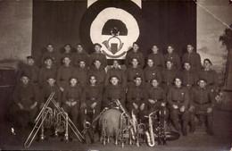 Militaire, 4eme B.C.P., Musique, Fanfare  (etat Voir Photo)  Carte Photo. - Regiments
