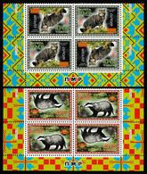 Europa Cept - 2021 - Transnistria, PMR. & Moldova - Block Of 4 Sets - (Wildlife) Local İssue ** MNH - 2020