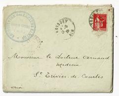 LAC Circ 1935, Tampon Association Des Anciens Eleves Collège Thoissey (01) Souscription Monument Général Marchand - Other