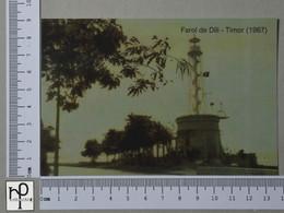 TIMOR - FAROL DE DÍLI -  1967 -   2 SCANS  - (Nº42854) - Timor Orientale