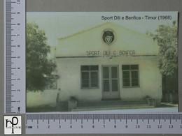 TIMOR - SPORT DÍLI E BENFICA -  1968 -   2 SCANS  - (Nº42855) - East Timor