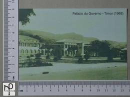 TIMOR - PALÁCIO DO GOVERNADOR -  1968 -   2 SCANS  - (Nº42856) - East Timor