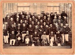 Photo 13,x 18 Cm). Compagnie D'infanterie Coloniale, Photo J. Randria, Tananarive - Guerra, Militari