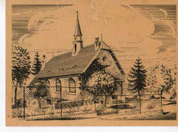 68 RIEDISHEIM Eglise Reformee Rue De La Marne, Illustrateur - Other Municipalities
