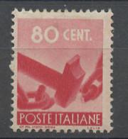 Italie - Italy - Italien 1945-48 Y&T N°487 - Michel N°688 *** - 80c Bris De Chaîne - Mint/hinged