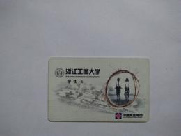 China,Student ID Card,zhejiang Gongshan University, CITIC Industrial Bank, (1pcs) - Unclassified