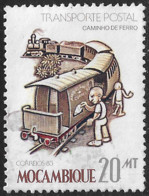 Mocambique – 1983 Public Transportation 20 Meticais Used Stamp - Mozambique