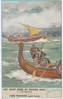 Chromos Liebig   Bateaux Viking - Liebig
