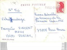 Photo Cpsm Cpm 17 MEUX. Le Monument Guerre 1914-18 Et Ce Qui Semble être Une Ecole... - Other Municipalities