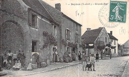 [78] Yvelines > Beynes Grande Rue Animée Attelage à Carme Versailles - Beynes