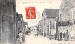 [78] Yvelines > Beynes Route Nationale Côté Sud Carte Animée à Gravereau Néauphle Le Château - Beynes