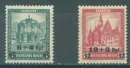 REICH - MH/* - 1932 - DRESDEN BRESLAU OVERPRINT - Mi 463-464 Yv 439-440 - Lot 23577 - Ongebruikt