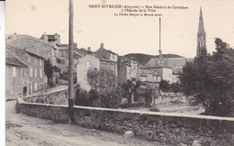12-SAINT AFFRIQUE RUE  GENERAL DE CASTELNAU A L ENTREE DE LA VILLE - Saint Affrique