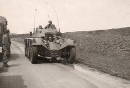 Guerre D'Algérie Photo Originale 7x10 Mitrailleuse Pannar  A Voir - War, Military