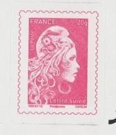 FRANCE / 2019 / Y&T N° AA 1656B ** : Marianne D'YZ TVP France 20g + SUIVI X 1 Sur Feuillet LS6 - Sellos Autoadhesivos