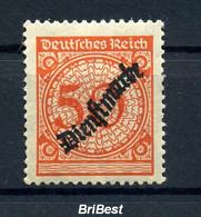 DEUTSCHES REICH 1923 Nr D103 Sauber Postfrisch (97060) - Officials