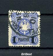 DP TUERKEI 1884 Nr 2 Sauber Gestempelt (97084) - Offices: Turkish Empire
