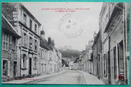 NOGENT LE ROTROU  -  (E Et L)  -  Rue St Laurent Et Le Château De St Jean - Nogent Le Rotrou
