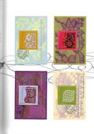 FRANCE Document Timbre 4600/4603 DENTELLES - Documents De La Poste
