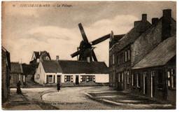 Coxyde-sur-Mer - N° 9 - Le Village - Moulin - Koksijde - Molen - Circulée - 2 Scans. - Koksijde