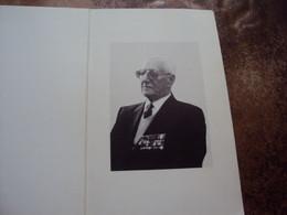 Doodsprentje/Bidprentje Hubert De Groote (Echtg J.Dupond) °op Kasteel Houthulst 1899-1986 Eresenator/Ereburgemeester.... - Religion & Esotericism