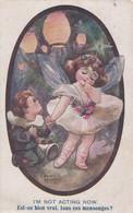 Ancienne Carte Postale -  Enfants Bal Carnaval Danseuse Illustrateur Spurgin - Spurgin, Fred