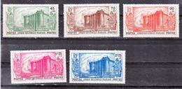 AEF  72/76 Prise De La Bastille 75 Tche Bleue Sur Inscription Neuf Avec Trace De Charnière* TB MH Con Charnela Cote 95 - Nuevos