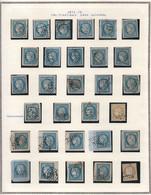 Page De 30 Cérès 1871-1875 - 15 C., 20 C. Et 25 C. - Oblitérations Gros Chiffres - 1871-1875 Ceres