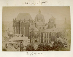 Albumen Photo - Aix-la-Chapelle, Aachen GERMANY (15.5 X 10cm) - Anciennes (Av. 1900)