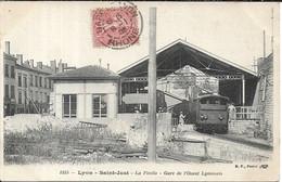 LYON SAINT JUST La Ficelle.Gare De L' Ouest Lyonnais - Lyon 5