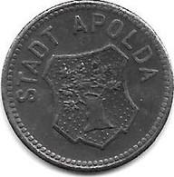 *notgeld  Apolda  10 Pfennig  1918   Fe   18.2b - Other