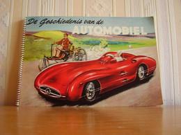 Album Chromos Images Vignettes Minerva  *** Histoire De L' Automobile *** - Album & Cataloghi