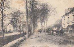 Ancienne Carte Postale -  Bourré Avenue De La Gare - Other Municipalities