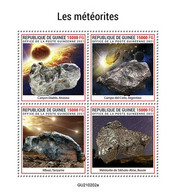 2021/04- GUINEA - METEORITES        4V   MNH ** - Autres