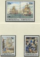 NORFOLK-INSEL / MiNr. 417 - 420 / 200 Jahre Kolonisation Der Norfolk-Insel / Postfrisch / ** / MNH - Barcos