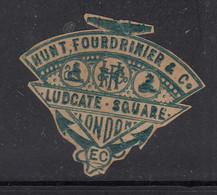 Old Monogram / Advertisement / Paper Cutout , Symbol / Logo, London Co., - Publicidad