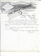 88 - Vosges - GERBEPAL - Facture GEORGE - Vins Et Spiritueux En Gros - 1914 - REF 189B - 1900 – 1949