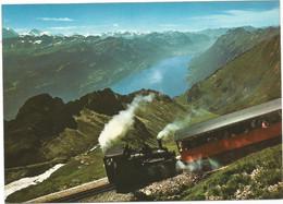 A6661 Brienz Rothorn Bahn - Treno Train / Non Viaggiata - BE Berne