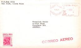 COSTA RICA - AIRMAIL 1974 > VIENNA/AT -METER- /QF165 - Costa Rica