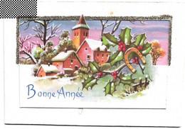 Carte Mignonnette - Bonne Année ,carte Double - Nouvel An