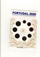 Série UNC Portugal 2020 Dans Encart Original - Portugal