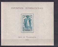 TOGO - EXPO 37 - BLOC YVERT N° 1 ** MNH - COTE 2015 = 13 EUR. - 1937 Exposition Internationale De Paris