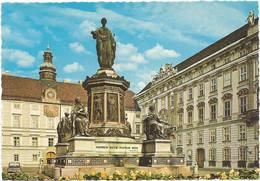 A6678 Wien - Innerer Burghof Der Hofburg Mit Denkmal Kaiser Franz I / Non Viaggiata - Wien Mitte